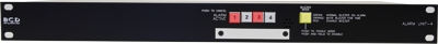1U Alarm system unit - 4 channel
